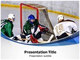 Ice Hockey Federation Templates For Powerpoint