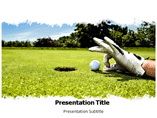 Golf Tour Golf  PowerPoint Template