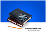 Education powerpoint presentation - Government Rule Book