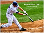 Playing Baseball Templates For Powerpoint
