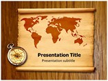 Geographical Map Templates For Powerpoint