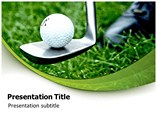 golf powerpoint background