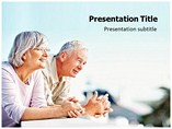 Retirement PowerPoint Layouts