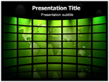 Green World Templates For Powerpoint