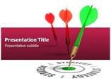 Marketing Target Templates For Powerpoint