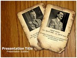 Adolf Hitler Templates For Powerpoint
