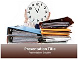 Personal Time Management PowerPoint Backgrounds