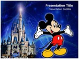 Mickey Mouse PowerPoint Template, Mickey Mouse PowerPoint Slide Templates