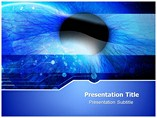 Ophthalmology PowerPoint Template, Ophthalmology PowerPoint Design Templates
