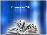 Open Book Templates For Powerpoint