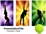 Tennis Posters Templates For Powerpoint