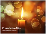Candles Powerpoint Templates