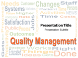 Quality Management Powepoint  Templates