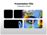 Green Earth Design Templates For Powerpoint