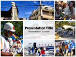 Haiti Earthquake Recovery Templates For Powerpoint