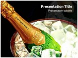 Champagnes Templates For Powerpoint