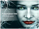 Gothic Girl Powerpoint Template