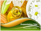 Oil And Flower Templates For Powerpoint