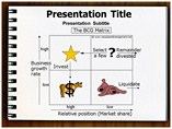 BCG Matrix Example Templates For Powerpoint