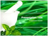 Smoking Herbs Templates For Powerpoint