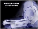Brain MRI PowerPoint Template