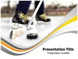 Ice Hockey PowerPoint Slides