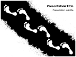 Footprint Templates For Powerpoint