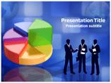 Pie Chart Business Profit PowerPoint Templates