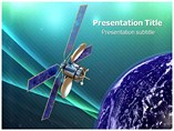 World Satellite Templates For Powerpoint