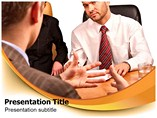 Way of Discussion PowerPoint Backgrounds