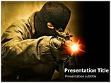 Terrorism PowerPoint Template, Terrorism PowerPoint Background Templates