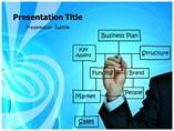 Business Plan Flowchart PowerPoint Templates