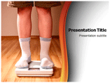 Child Obesity PowerPoint Backgrounds