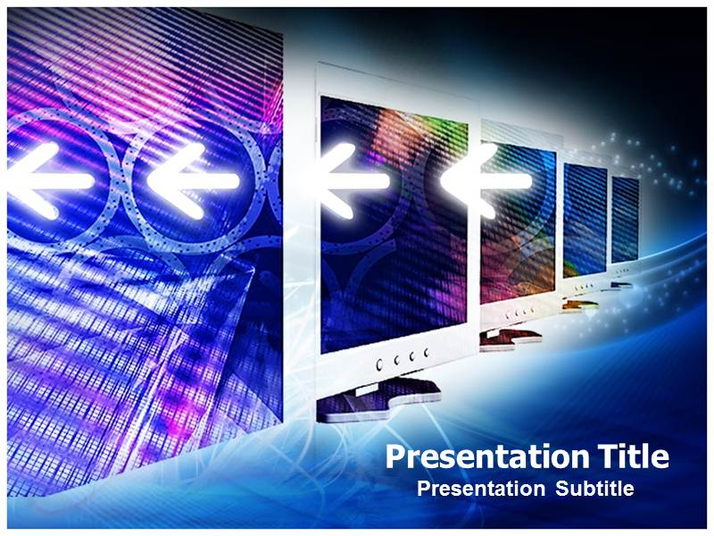 Computer Network Pictures Templates For Powerpoint