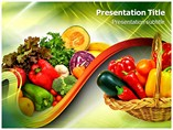 Fruit Or Vegetables Templates For Powerpoint