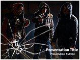 Gang Violence Powerpoint Template