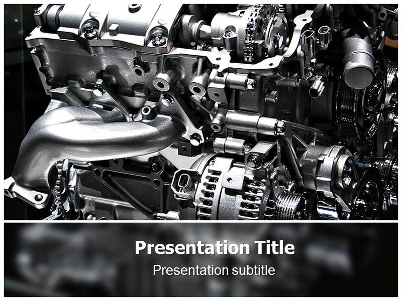 Automotive Engine Templates For Powerpoint