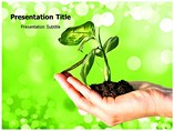 Plant in Soil Templates For Powerpoint