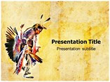 American Indian Powerpoint Template