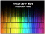 Atomic Spectrum Templates For Powerpoint