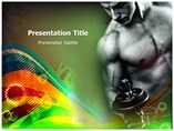Fitness For Man Templates For Powerpoint
