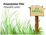 Go Green Ideas PPT Template