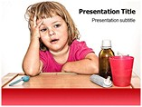 Sick Child Templates For Powerpoint