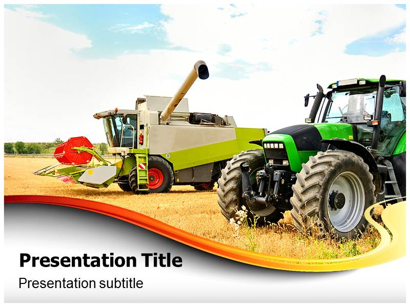 Agriculture Technology Templates For Powerpoint