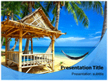 Bamboo Hut Templates For Powerpoint