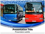 Buses Powerpoint (PPT) Templates