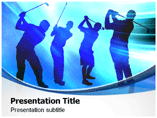 Golf Tournament   PowerPoint Template