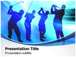 Golf Tournament   PowerPoint Template