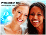 African American Woman Templates For Powerpoint