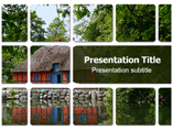 Lake Cottage Templates For Powerpoint